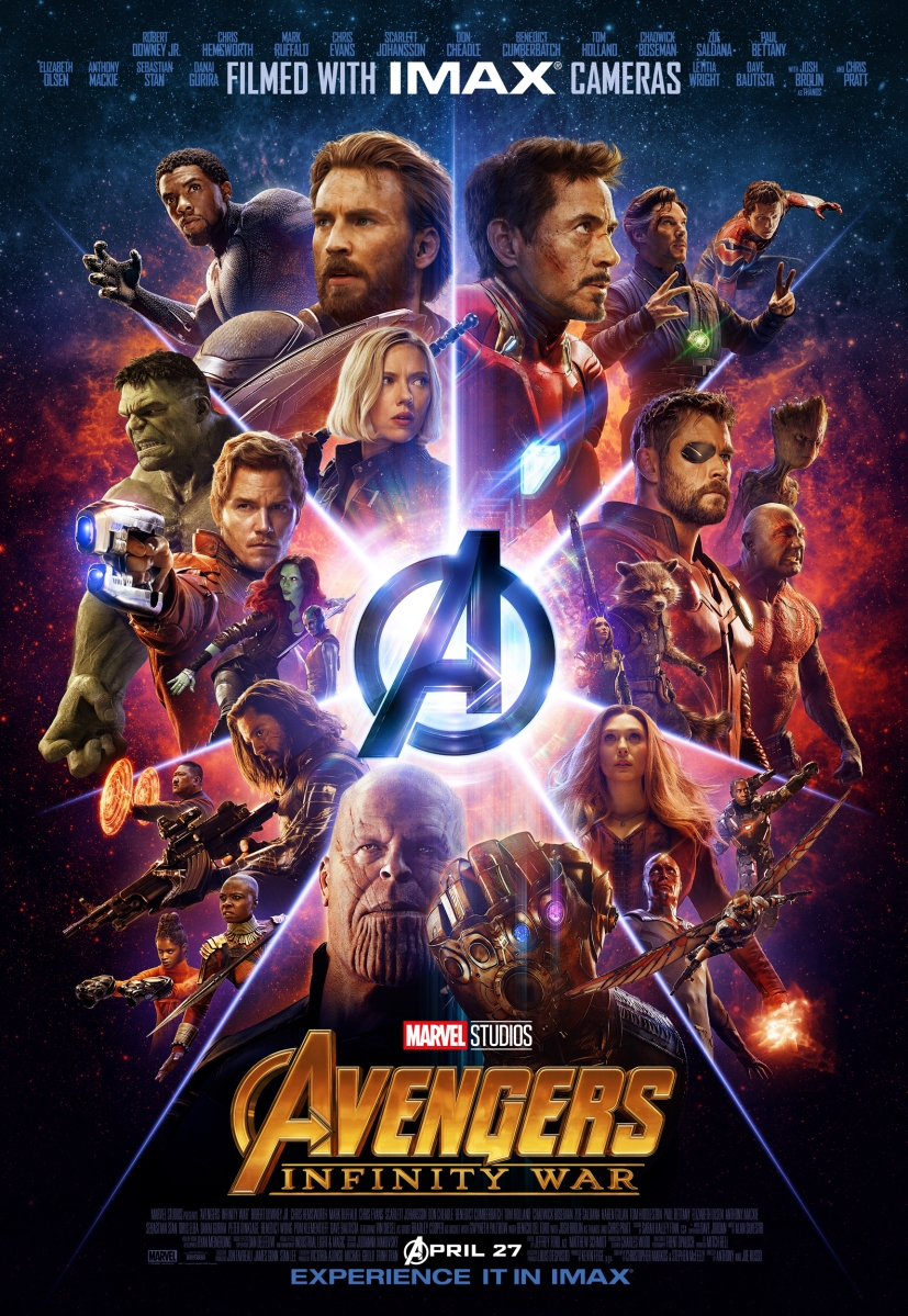 Official IMAX Poster for 'Avengers: Infinity War' May Be the Geekiest Poster Ever