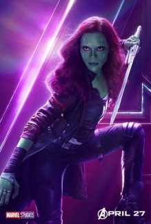 avengers-infinity-war-poster-zoe-saldana-gamora-405x600