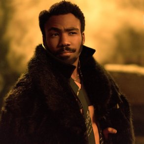Donald Glover as Lando in Solo: A Star Wars Story