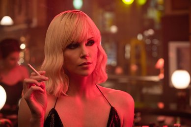 Charlize Theron as Lorainne in Atomic Blonde