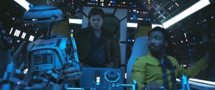 Alden Ehrenreich & Donald Glover in Solo: A Star Wars Story