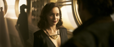 Emilia Clarke is Qi'ra in Solo: A Star Wars Story