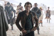 Alden Ehrenreich as Han in Solo: A Star Wars Story