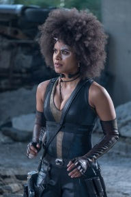 Zadie Beetz as Domino in Deadpool 2