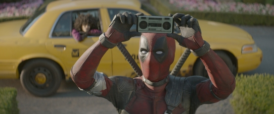 Ryan Reynolds as Deadpool in Deadpool 2