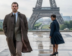Henry Cavill & Angela Bassett in Mission: Impossible - Fallout