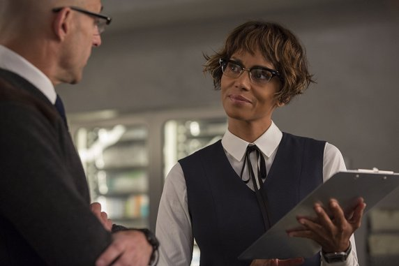 Mark Strong & Halle Berry in Kingsman: The Golden Circle