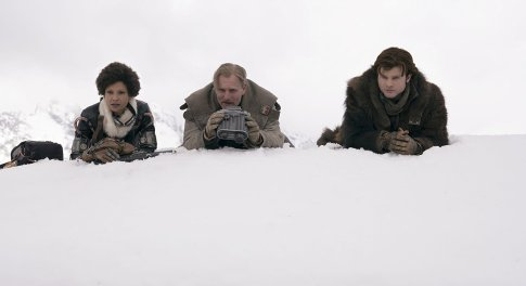 Thandie Newton, Woody Harrelson & Alden Ehrenreich in Solo: A Star Wars Story