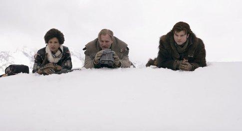 Thandie Newton, Woody Harrelson & Alden Ehrenreich in Solo: A Star Wars Story