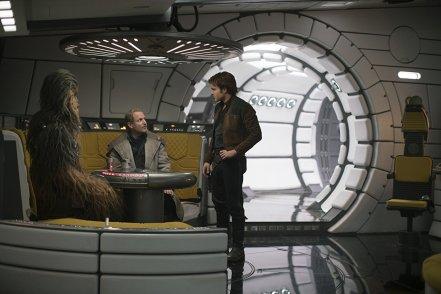 Woody Harrelson & Alden Ehrenreich in Solo: A Star Wars Story
