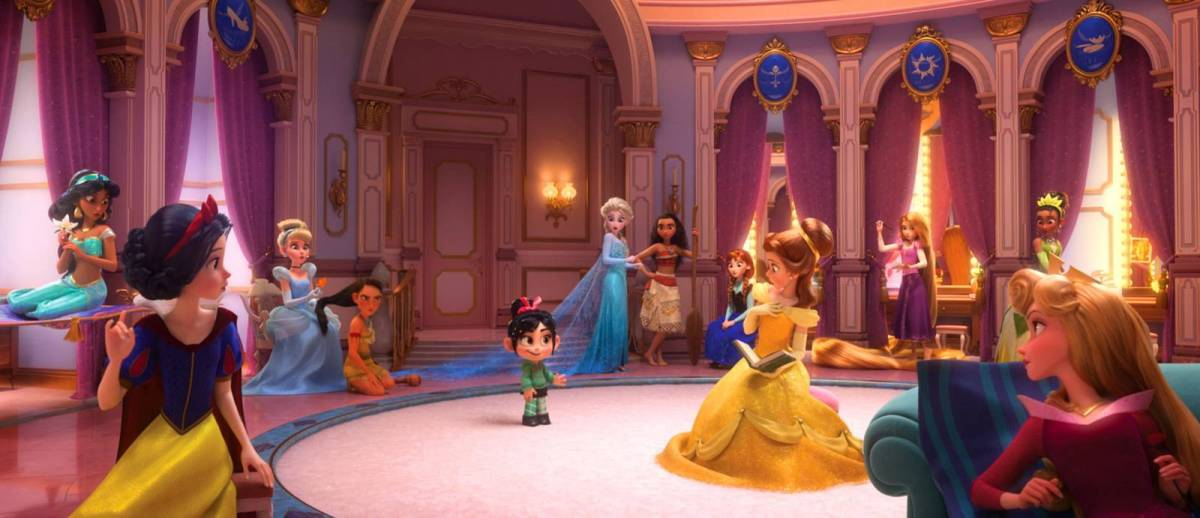 New 'Wreck-It Ralph 2' Images Bring Together Every Disney Princess