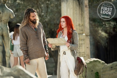 Jason Momoa & Amber Heard in Aquaman