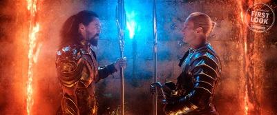Jason Momoa & Patrick Wilson in Aquaman