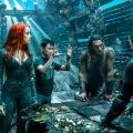Amber Heard, James Wan, Jason Momoa & Willem DaFoe in Aquaman