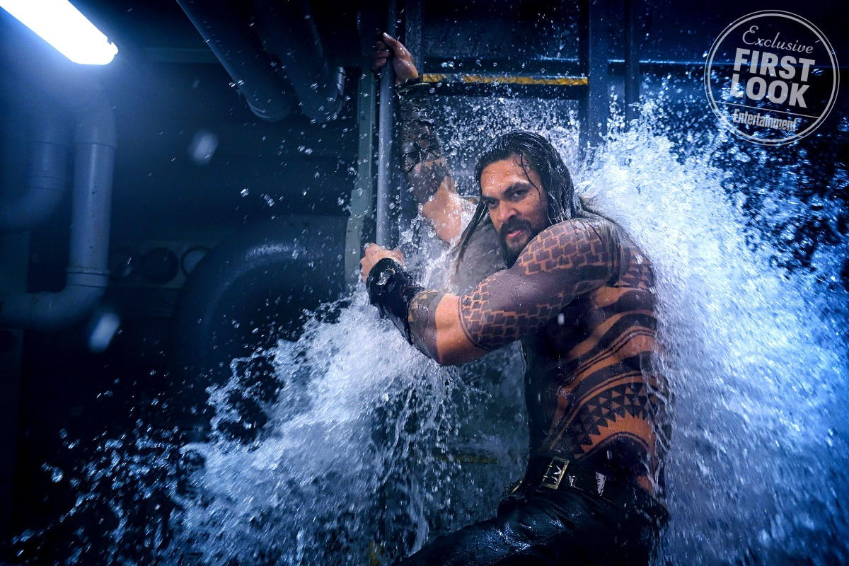 EW's 'Aquaman' Spread Reveals DC's Gritty Underwater Adventure