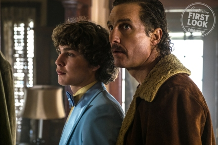 Richie Merritt & Matthew McConaughey in White Boy Rick
