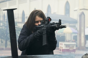 Lauren Cohan in Mile 22