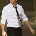 Chris Hemsworth Filming Men in Black