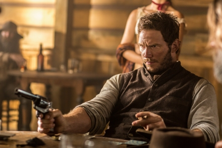 Chris Pratt in The Magnificent Seven