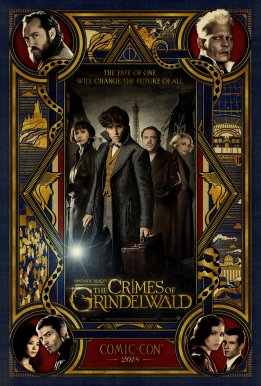 Fantastic Beasts: The Crimes of Grindelwald SDCC Poster