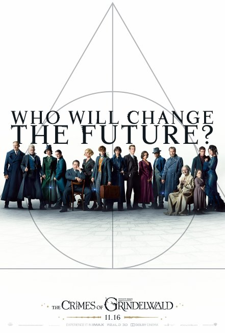 Fantastic Beasts: The Crimes of Grindelwald SDCC Poster