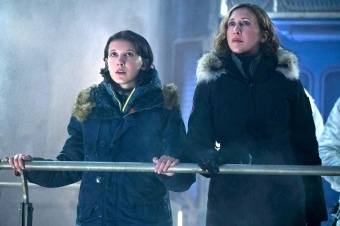 Millie Bobby Brown & Vera Farmiga in Godzilla: King of the Monsters