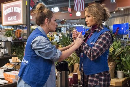 Leah Remini & Jennifer Lopez in Second Act