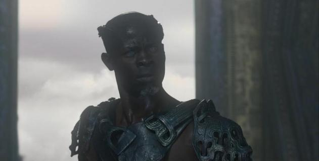 Djimon Hounsou as Korath the Pursuer in Guardians of the Galaxy