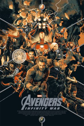Avengers: Infinity War SDCC Poster