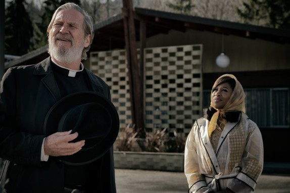Jeff Bridges & Cynthia Erivo in Bad Times at the El Royale