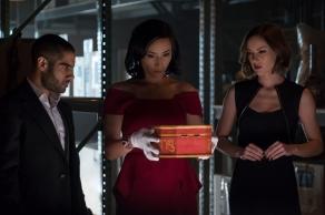 Sacha Dhawan & Jessica Stroup in Iron Fist: Season 2