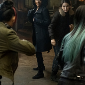 Simone Missick & Jessica Henwick in Iron Fist: Season 2
