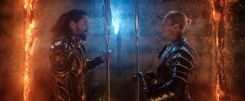 Jason Momoa & Patrick Wilson in Aquaman