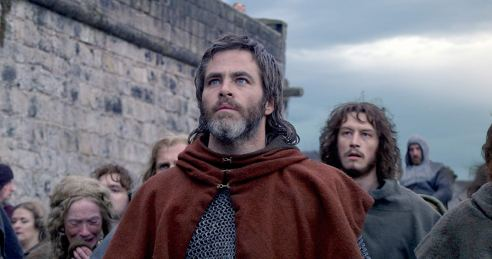 Chris Pine & Lorne MacFadyen in Outlaw King
