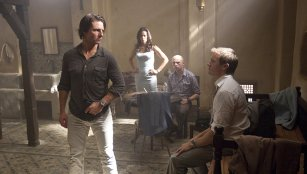Tom Cruise, Paula Patton, Simon Pegg & Jeremy Renner in Mission: Impossible - Ghost Protocol