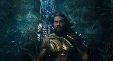 Jason Momoa as Arthur Curry in Aquaman