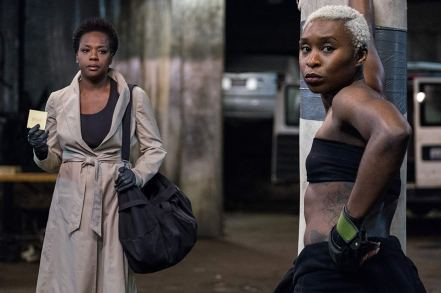 Viola Davis & Cynthia Erivo in Widows