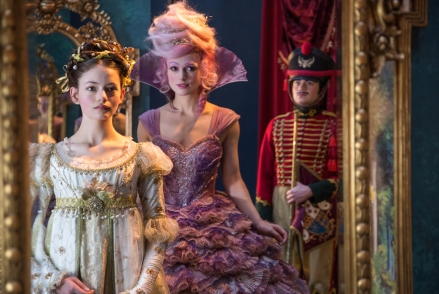Mackenzie Foy & Keira Knightley in The Nutcracker and the Four Realms