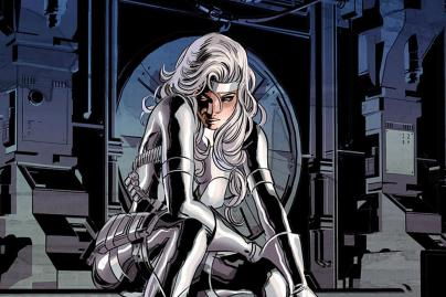 Silver Sable in Silver & Black