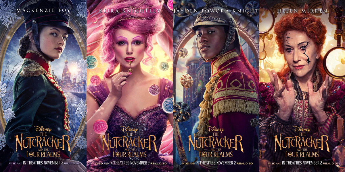 「the nutcracker and the four realms poster」の画像検索結果