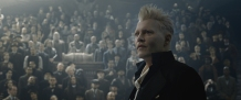 Johnny Depp in Fantastic Beasts: The a Crimes of Grindelwald