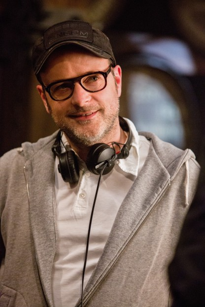 Matthew Vaughn on set Kingsman- The Golden Circle