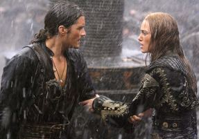 Orlando Bloom & Keira Knightley in Pirates of the Caribbean: At World's End