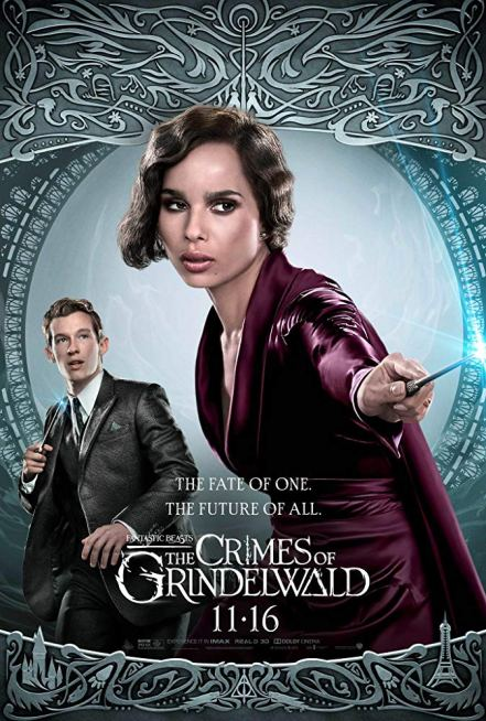 Fantastic Beasts: The Crimes of Grindelwald Character Poster
