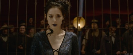 Claudia Kim as Nagini in Fantastic Beasts: The Crimes of Grindelwald
