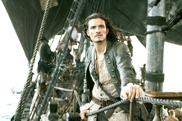 Orlando Bloom in Pirates of the Caribbean: Dead Man's Chest