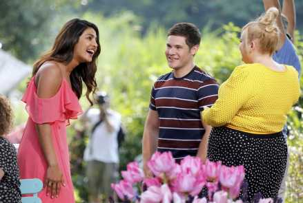 Priyanka Chopra, Adam Devine & Rebel Wilson in Isn't It Romantic