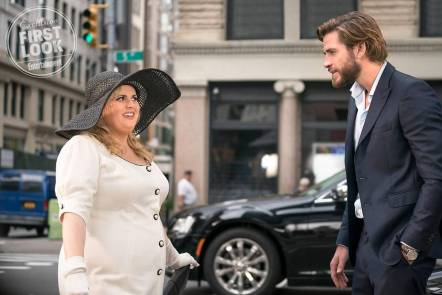 Rebel Wilson & Liam Hemsworth in Isn't It Romantic