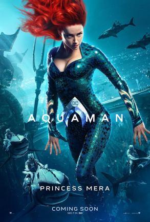 """Aquaman """"Mera"""" Character Poster"""