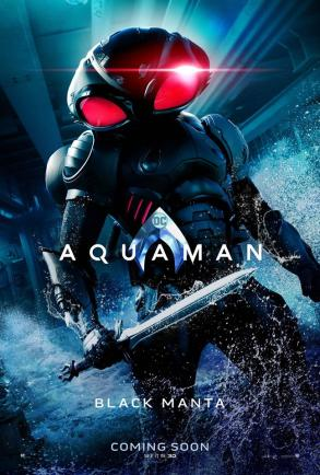 "Aquaman ""Black Manta"" Character Poster"
